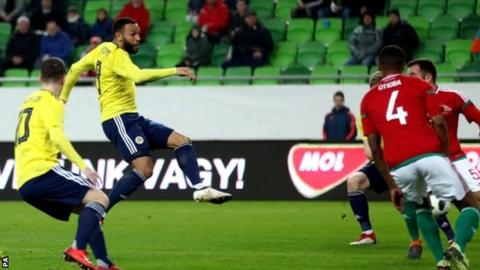 Scotland miss penalty but still earn first win of McLeish's second spell in charge 2