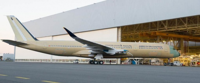 Airbus debuts ultra-long-range A350 XWB ahead of Singapore Airlines launch 3