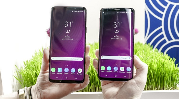 Samsung Galaxy S9, S9+ Users Reporting Touch Screen Dead Zones 8