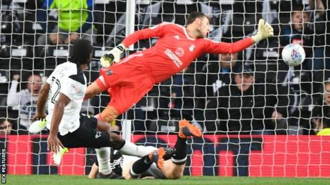 Derby beat Fulham in play-off semi-final first leg 24