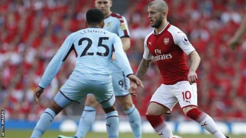 I could have made an impact in Russia - Wilshere 1
