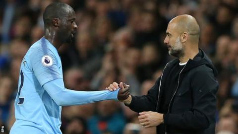 Guardiola often has problem with Africans - Toure 5