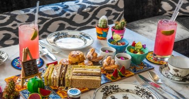 The Franklin launches Frida Kahlo-inspired afternoon tea 3