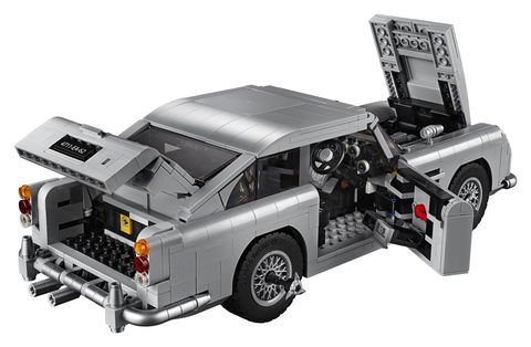 LEGO Is Making a James Bond Aston Martin DB5 Complete with Tire Slashers and Ejector Seat 8