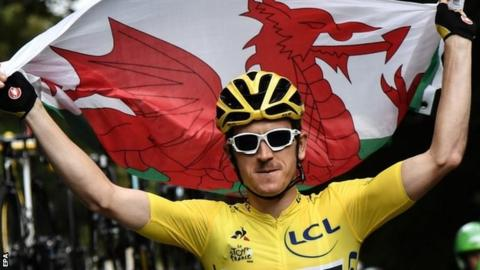 Tour de France: Geraint Thomas wins as Chris Froome finishes third 1