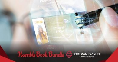 ET Deals: Jump Into VR Development with the Humble Book Bundle 8