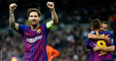Messi scores twice as Barca hold off Spurs comeback 4
