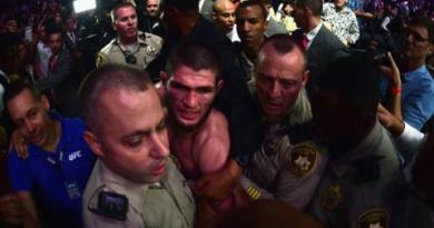 Brawls and arrests after Nurmagomedov beats McGregor 2