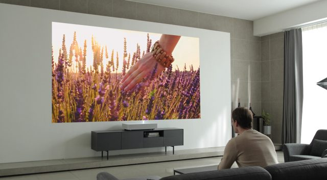 LG's New Laser Projector Works Just 2 Inches Away From Your Wall 5