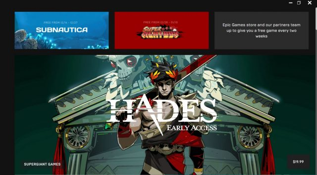 Epic Launches New PC Games Store With Handful of Titles 15