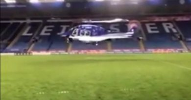 Leicester City crash helicopter rotor controls failed 9