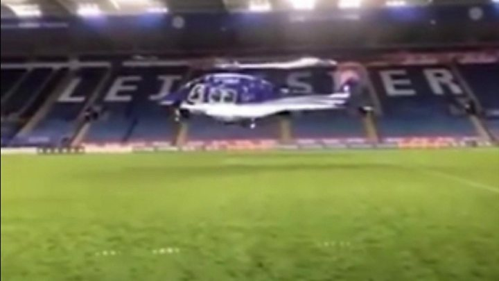 Leicester City crash helicopter rotor controls failed 5
