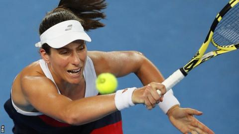 Australian Open 2019: Johanna Konta knocked out by Garbine Muguruza 9