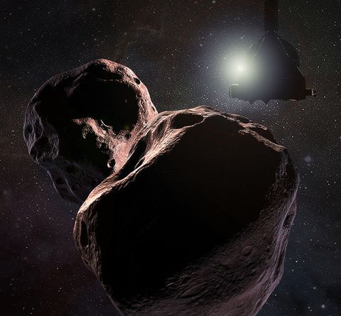 NASA's Newest Photos from Ultima Thule Make It Look Like a Red Snowman 3