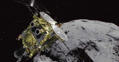 Japan's Hayabusa 2 Probe Is About to Shoot an Asteroid 2