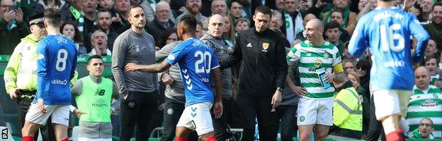 Celtic 2-1 Rangers: Late James Forrest strike wins Old Firm derby 12