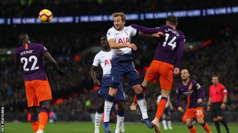 Champions League quarter-finals: Tottenham Hotspur v Manchester City 5