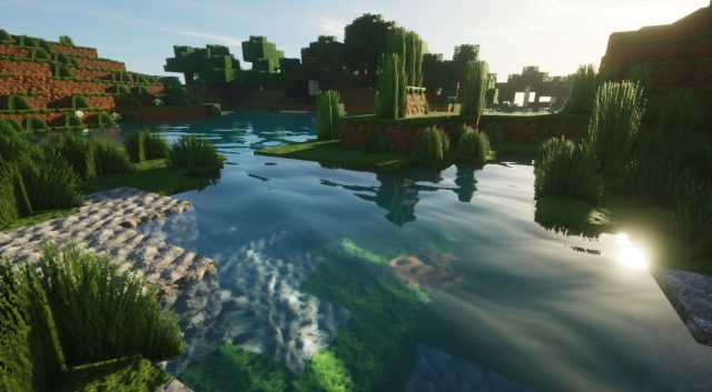 New Path-Traced Shaders Make Minecraft Look Amazing 1