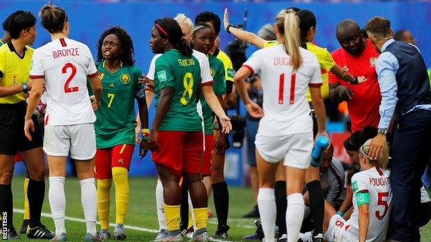 Women's World Cup: England boss Phil Neville 'ashamed' by Cameroon behaviour 2