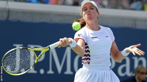 US Open 2019: Britain's Johanna Konta into second round but Harriet Dart loses 1