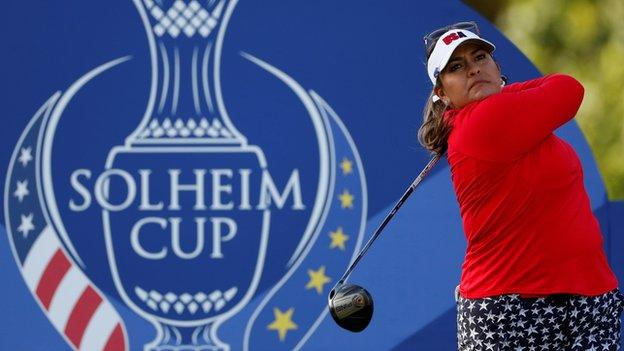 Solheim Cup 2019: Europe take slender 4½-3½ lead over United States after day one 8