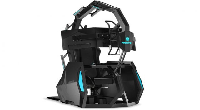 Throne of Games: Acer's 'Affordable' Predator Thronos Air Chair Costs $14,000 1