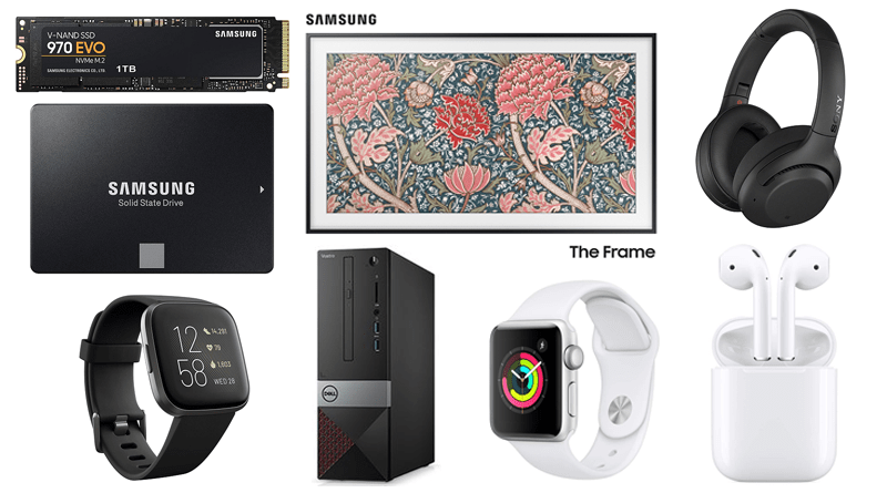 ET Deals: Samsung Early Black Friday Deals: 1TB Samsung 970 EVO SSD $150, 2TB Samsung 860 EVO SSD $230, Up to 47 Percent off Samsung The Frame 4K QLED TVs 16