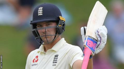 South Africa v England: Rory Burns leads unlikely pursuit of 376 5
