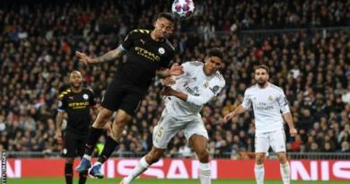 Real Madrid 1-2 Manchester City: Gabriel Jesus & Kevin de Bruyne give City win in first leg 2