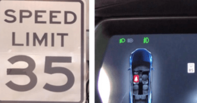 Researchers Tape Speed Limit Sign to Make Teslas Accelerate to 85 MPH 1