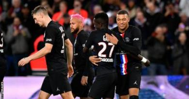 Ligue 1: Paris St-Germain awarded French title as season finished early 4