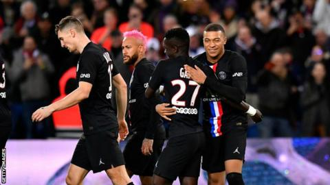Ligue 1: Paris St-Germain awarded French title as season finished early 1