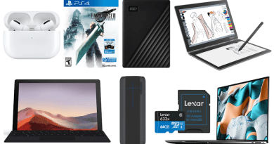 ET Deals: 5TB WD My Passport Only $99, $10 Off Final Fantasy VII Remake, $50 Off New Dell XPS 15 4
