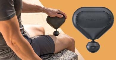 A Smaller, Quieter Theragun Called the Mini Will Blast the Knots Out of Your Muscles 1