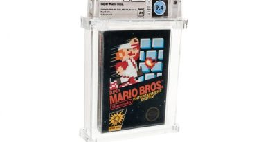 Super Mario Bros. Copy Sells for Record-Setting $114,000 3
