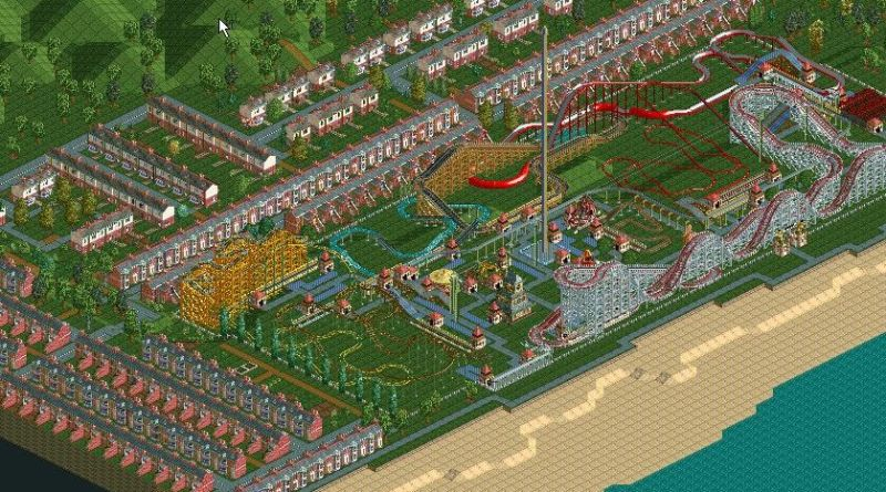 Not Even RollerCoaster Tycoon Is Safe From My Unchecked Inner Angst 1