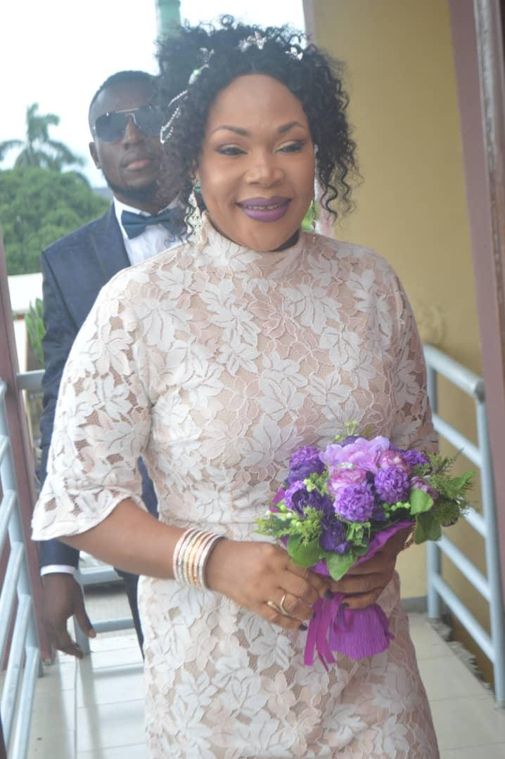 Thrills As Mabel Oboh Marries Her Beau, Michael Udoh (Photos