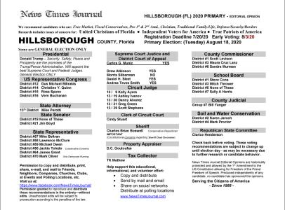 2020 FL Hillsborough Primary
