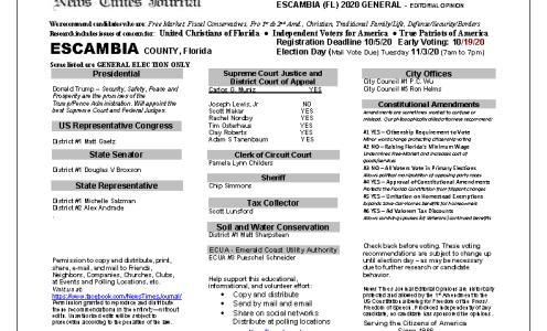 FL Escambia 2020 General