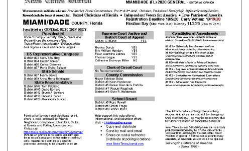 FL Miami-Dade 2020 General