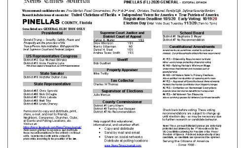 FL Pinellas 2020 General