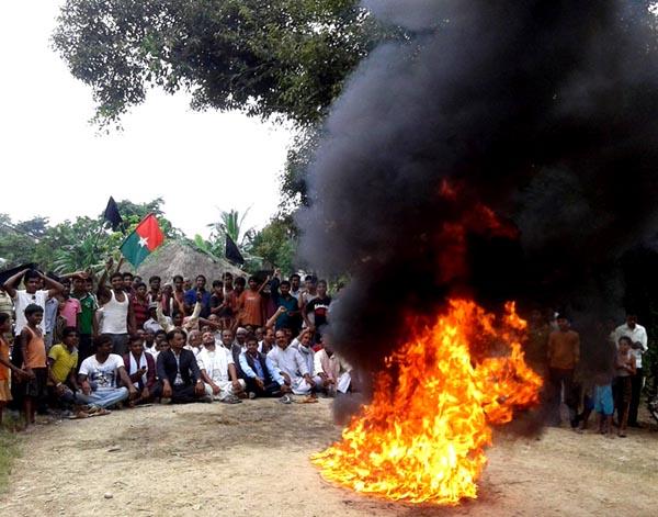 जारी आन्दोलनमा कांग्रेस, एमाले र एमाओवादी पनि सहभागी