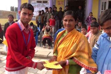 लहानक मनकामना ईस्कूलमे मैथिली वक्तृत्वकला