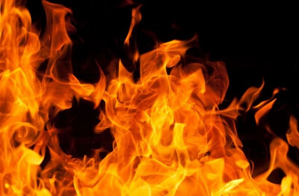 राजविराजमा आगलागी हुँदा ६६ हजार नगद जले