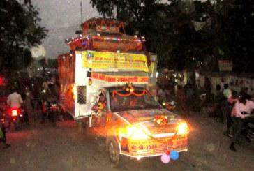 साढे आठ महिना नेपाल–भारत भ्रमण गरी शान्ति रथ छिन्नमस्ता फर्कियो