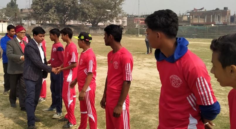 राजविराजमा अन्तरविद्यालय स्तरिय क्रिकेट प्रतियोगिता सुरु