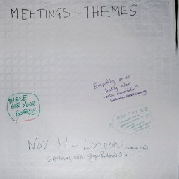 The themes meetings board