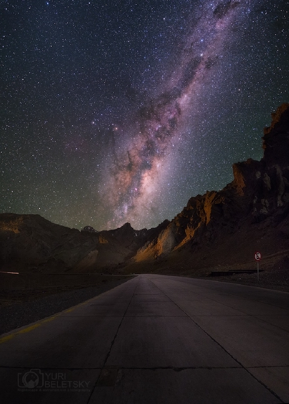 Milky way road DE