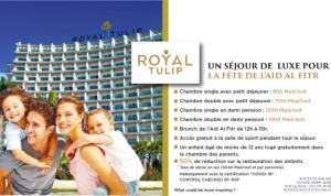 vacances de luxe au Royal Tulip