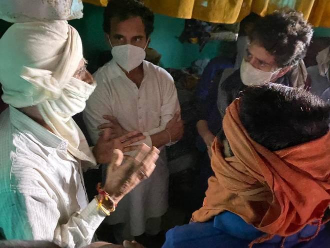 Rahul-Priyanka-meet-Hathras-familyjpeg